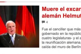 Helmut Kohl war drei Mal auf Mallorca