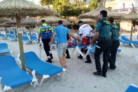 Deutsches Kind nach Sturz am Strand schwerverletzt