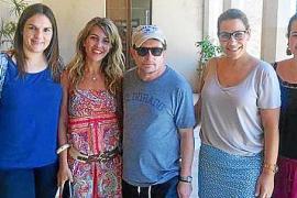 Schauspieler Michael J. Fox macht Urlaub auf Mallorca