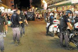 Polizei auf Mallorca nimmt Playa de Palma ins Visier