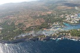 Die Rauchsäule bei Portopetro