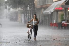 Wetteramt warnt vor Gewitter und Starkregen auf Mallorca