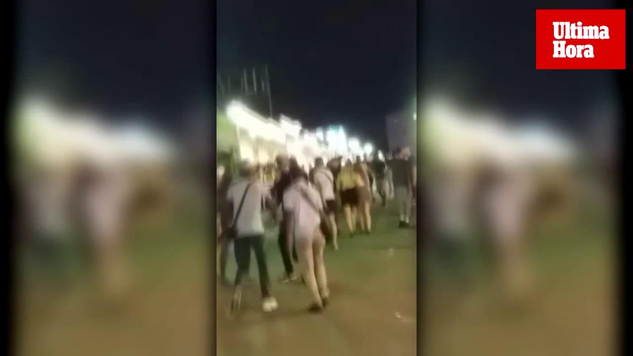 Straßenhändler in Magaluf prügelten sich untereinander