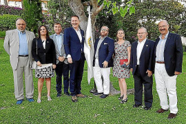 Michael Blum neuer Chef von Palmas Rotariern