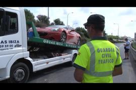 Deutscher Ferrari sorgt für Riesenstau auf Mallorca