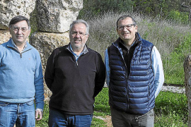 Die Autoren des Buches Antoni Ginard, Andreu Ramis und Joan Bauzà (von links).