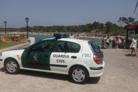 Blauhai streift Badegast auf Mallorca