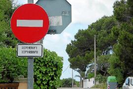 Neuer Parkplatz für Besucher der Cala Llombards