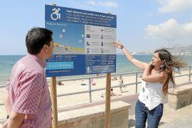 Barrierefreier Zugang für zwei weitere Palma-Strände