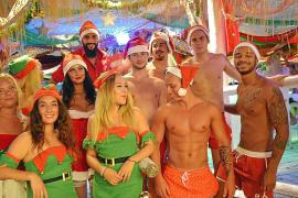 Ja, in Magaluf ist schon Weihnachten!