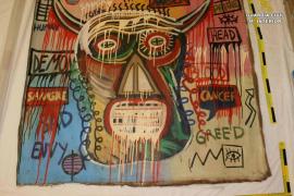67-Jährige entwendet auf Mallorca Basquiat-Gemälde