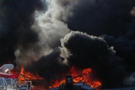 Mann bei Brand in Port d'Andratx schwer verletzt