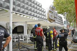 Bar in Magaluf durch Feuer zerstört