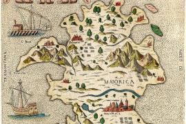 Die total verwirrende Mallorca-Landkarte von 1565