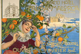 Mallorca-Werbung aus dem Jahr 1902