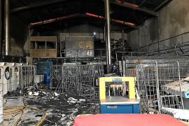 Wäscherei fällt Flammen zum Opfer