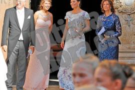 Victoria und Silvia bei Trauung auf Mallorca