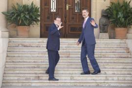 Mallorca-Audienz verzögert sich wegen Hexenschuss