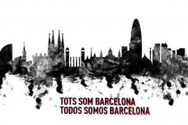 """""""Tots som Barcelona"""" – """"Wir alle sind Barcelona"""""""