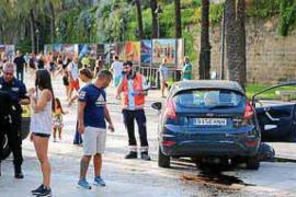 Deutscher Autofahrer löst in Palma Panik aus