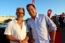 """""""Bild-Redakteur Ingo Wohlfeil (links) und Sänger Peter Wackel"""