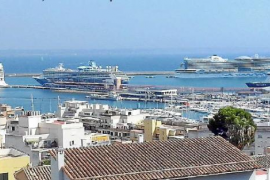 Kreuzfahrten: Volles Haus in Palma de Mallorca