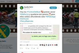 Guardia Civil warnt vor falschen Terrormeldungen