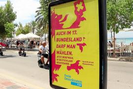 Verwunderung über FDP-Plakat an Playa de Palma