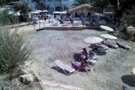 Strand an Costa de la Calma gesperrt