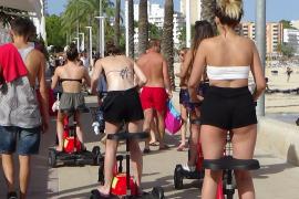 Elektro-Dreiräder in Magaluf werden verboten