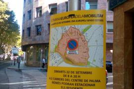 Dort parkt man am Autofreien Tag in Palma