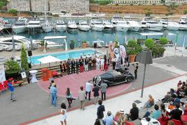 """So sah's beim """"Concours d'Elegance"""" im vergangenen Jahr in Port Adriano aus."""