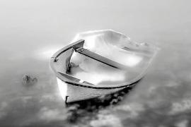 """""""The Time of Silence"""" hat der Fotograf Axel Hilger seine Ausstellung überschrieben."""