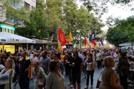 Demo für katalanisches Referendum in Palma