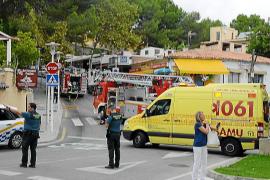 Mann bei Gasexplosion in Peguera verletzt