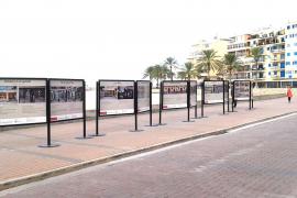 Fotoausstellung auf der Strandpromenade