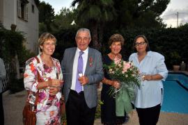 Ein Festakt auf Mallorca für Günter Stalter