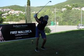 Der Swing stimmt bei der MM Golf Trophy in Camp de Mar.