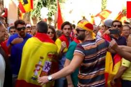 Tausende bei Pro-Spanien-Demo auf Mallorca