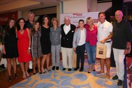 Foto mit allen sportlichen Siegern des Abends.