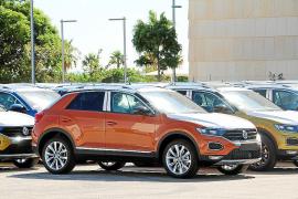 Die ersten T-Rocs von VW stehen in Palma bereit