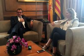 Deutscher Botschafter in Palma empfangen