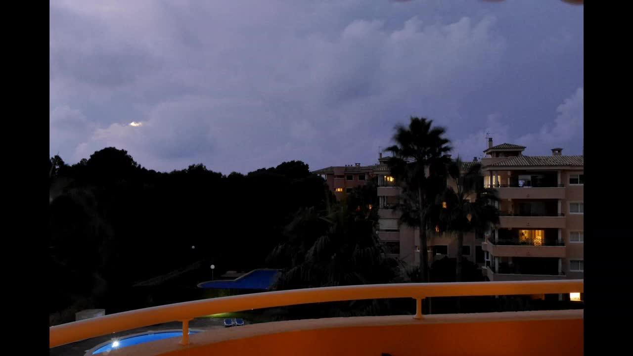Regentief lässt die Wogen hochgehen