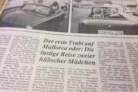 1990 kam der erste Trabi nach Mallorca