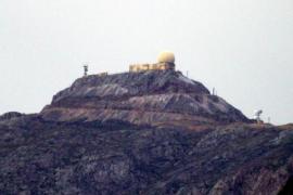 Auf dem Gipfel des Puig Major fielen, wie hier auf dem Archivfoto von 2010, die ersten Herbst-Schneeflocken.