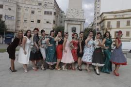 Die Pin-up-Mode wird auf Mallorca populär