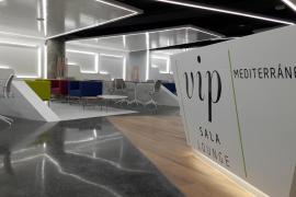 Neuer VIP-Bereich im C-Modul am Airport Palma