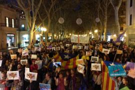 Große Katalonien-Demonstration auf Mallorca