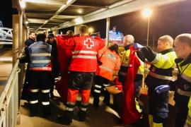26 Verletzte bei Fährenbrand vor Mallorcas Nordküste