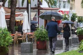 Die neue Woche auf Mallorca startet regnerisch